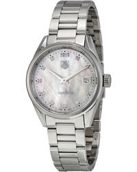 Tag Heuer - Carrera Mother Of Pearl Dial Ladies Watch War1314ba0778 - Lyst