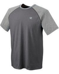 Champion - Mens Vapor Cotton Raglan T-shirt - Lyst