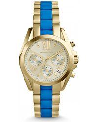 Michael Kors - Bradshaw Mk5908 Two-tone/champagne Analog Quartz Watch - Lyst