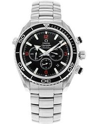 Omega - 2210.51.00 Seamaster Planet Ocean Automatic Chronometer Chronograph Watch - Lyst