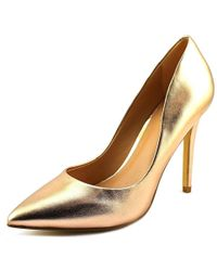 Charles David - Charles By Pact Women Us 10 Gold Heels - Lyst