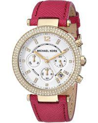 86c09790df41 Michael Kors - Mk2297 Parker Watch - Lyst