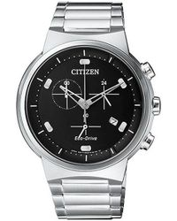 Citizen - Eco-drive Steel Chronograph Watch At2400-81e - Lyst