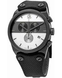 CALVIN KLEIN 205W39NYC - Eager Chronograph Watch K4b374b6 - Lyst