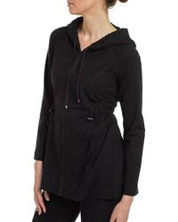 Spanx - Ath-leisure Contour Jacket Hooded Sweatshirt 1529 A230430 - Lyst