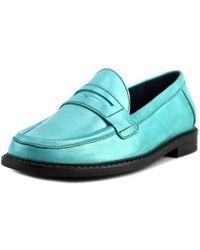 Cole Haan - Pinch Campus Penny Women Us 6.5 Green Loafer - Lyst