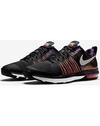 Nike - Air Max Effort Tr Amp 705367-008 Black/orange/ink Super Bowl Xlix Shoes - Lyst