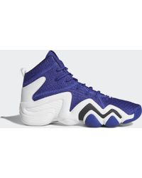 hot sale Lyst - Adidas Crazy 8 Adv Primeknit Shoes in Purple for Men 12ceb  56a20 ... 6652461ac