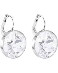 46d391932 Swarovski 5299317 Bella V Pierced Gray Crystal Rose Gold Plated ...