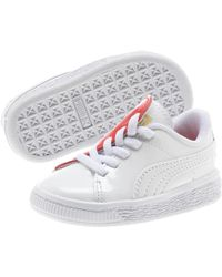 389a163b74e58d PUMA - Basket Crush Patent Ac Sneakers Inf Unisex Baby - Lyst