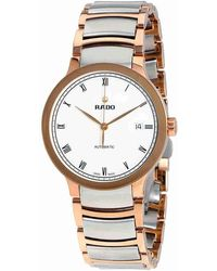Rado - Centrix Automatic White Dial Two-tone Watch R30036013 - Lyst