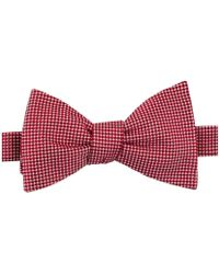 Tommy Hilfiger - Solid To-be Bow Tie Red Short - Lyst