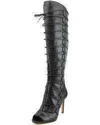 Vince Camuto - Kesta Peep Toe Knee High Boot - Lyst