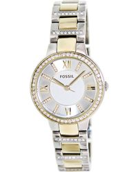 Fossil - Es3503 Virginia Stainless Steel Watch - Lyst
