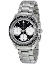 Omega - Speedmaster Racing Black Dial Watch 32630405001002 - Lyst