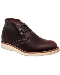 Red Wing - Classic Work Chukka Men Us 8.5 Brown Chukka Boot - Lyst