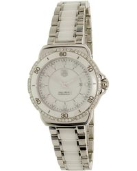 Tag Heuer - Formula 1 White Diamond Dial Ladies Watch Wah1313.ba0868 - Lyst