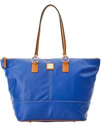 846efe48ae8 Lyst - Lauren By Ralph Lauren Newbury Double Zip Shopper in Brown