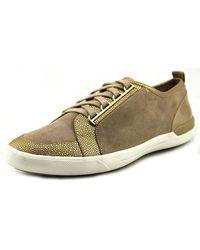 CALVIN KLEIN 205W39NYC - Tanita Suede Fashion Sneakers - Lyst