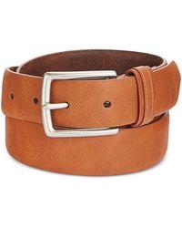 Tommy Hilfiger - Textured Belt Brown 44 - Lyst