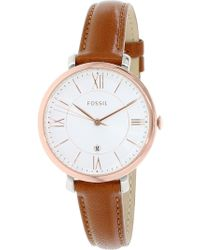 Fossil - Es3842 Jacqueline Leather Watch - Lyst
