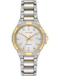 Citizen - Ew2464-55a Riva Womens Watch Two-tone Silver gold 30mm Stainless f05f3942f