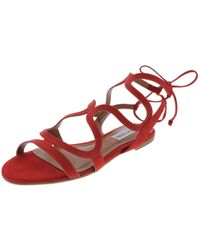 afea0ee81a09 Steve Madden - Cece Open Toe Caged Flat Sandals - Lyst