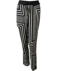CALVIN KLEIN 205W39NYC - Geometric Print Drawstring Pants (xs - Lyst