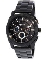 Fossil - Fs4552 Machine Stainless Steel Watch - Lyst