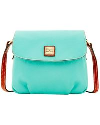 Dooney & Bourke - Pebble Flap Crossbody Shoulder Bag - Lyst