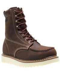 Wolverine - Loader 8' Wedge Steel-toe Boot - Lyst