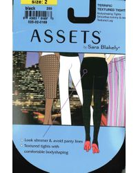 ae4c4e50f14 Spanx - New Assets Black Asset Grosgrain Tights In Brown Style Number 255  (3)