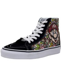 330ad0641e7 Vans - Sk8-hi Reissue Nintendo Ankle-high Canvas Skateboarding Shoe - 7m 5.5