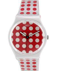 Swatch - Originals Ge240 Plastic Swiss Quartz Fashion Watch - Lyst