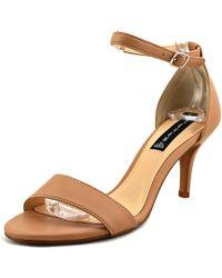 9e8777b6713 Lyst - Steve Madden Steven Viienna Women Us 7 Nude Sandals in Natural