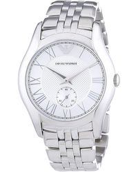 Armani - Classic Silver Watch Ar1711 - Lyst