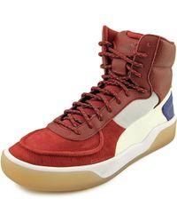 PUMA - Mcq Brace Mid Men Us 10.5 Red Sneakers - Lyst