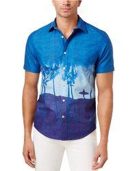 Tommy Hilfiger - Men's Island Scene Cotton Shirt - Lyst