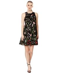 Calvin Klein - Petites Embroidered Floral Wear To Work Dress - Lyst