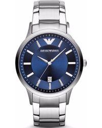 564812db0 Emporio Armani Classic Watch Ar0368 in Black for Men - Lyst