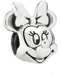 PANDORA - Disney Minnie Silver Charm - 791587 - Lyst