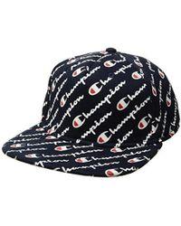 Champion - Mens Super Fleece Baseball Cap - Lyst