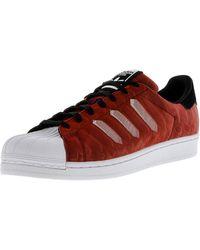 Lyst adidas superstar ctxm originali di basket maschile scarpa in rosso