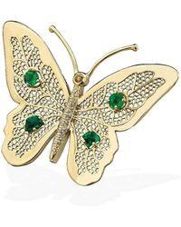 Rosmundo | Butterfly Of Inspiration Brooch/pendant | Lyst
