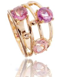 Soligems - Troika Sapphire Ring - Lyst