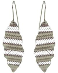 Emma Mogridge Jewellery - Medium Ripple Earrings - Lyst