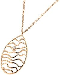 Botta Gioielli - Rose Gold Bubbles Pendant - Lyst
