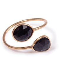 Black Betty Design - The Gemini Ring With Black Onyx - Lyst