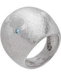 Mishanto London - Blue Topaz Veneto Dome Ring - Lyst