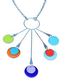 Just Kenzie Jewelry - Trapeze Necklace - Lyst
